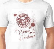 Pirates of the Caribbean Medallion Unisex T-Shirt