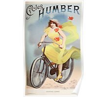 Les Affiches Illustrees 1886 1895 Ouvrage Orne de 64 Ernest Maindron Jules Cheret 1896 0281 Cycles Humber Poster