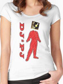 DJ*PJ Women's Fitted Scoop T-Shirt