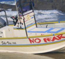 No fear in Port Edward... Sticker