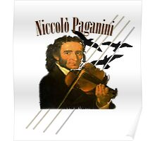 Niccolò Paganini Poster