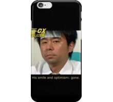 His Smile and Optimism: Gone iPhone Case/Skin