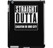 Straight outta Cagayan de Oro City! iPad Case/Skin