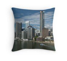 Brisbane CBD Throw Pillow
