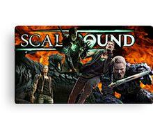 ScaleBound Graphic Design Canvas Print