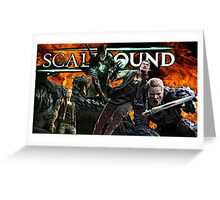 ScaleBound Graphic Design Greeting Card