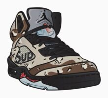 SUPREME CAMO 5s by wup66
