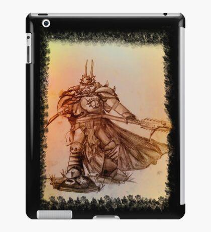 Warhammer 40k Night Lords Inspired Trooper - Square iPad Case/Skin