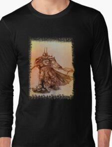 Warhammer 40k Night Lords Inspired Trooper - Square Long Sleeve T-Shirt