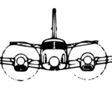 King Air C90 (front) Sticker