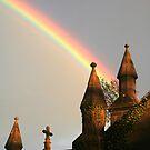 Rainbow spires by Anthony Thomas