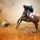 Polo with Cheetas by isabelleann