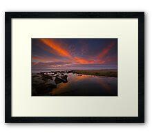 Arroyo Burro Creek Estuary Framed Print