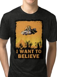 I Want to Believe, Morty Tri-blend T-Shirt