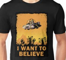 I Want to Believe, Morty Unisex T-Shirt