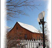 Winter Barn by tc5953