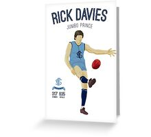 Rick Davies -  Sturt (on Oatey Blue) Greeting Card