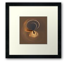 The second sunset in the round Framed Print
