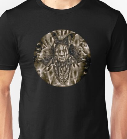 Native American Spirit Of The Bear  Unisex T-Shirt