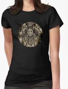 Native American Spirit Of The Bear  Womens Fitted T-Shirt