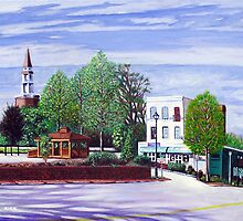 'White Street, Sunday Afternoon' by Jerry Kirk