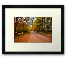 Country Road Framed Print