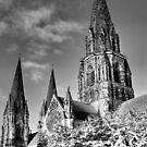 Spooky St Mary's ~ Infra Red  ~ by Sandra Cockayne