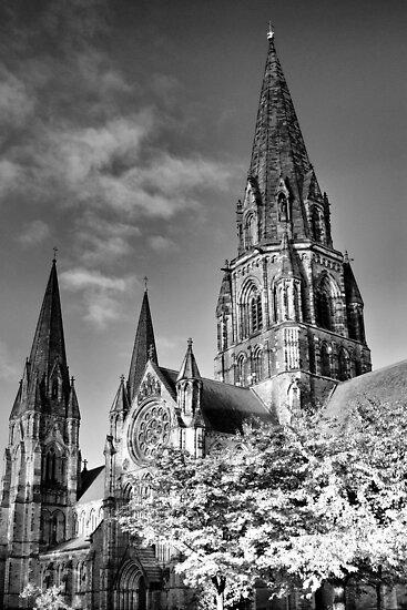 Spooky St Mary's ~ Infra Red  ~ by Sandra Cockayne