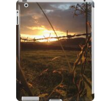 Barbed sunset iPad Case/Skin