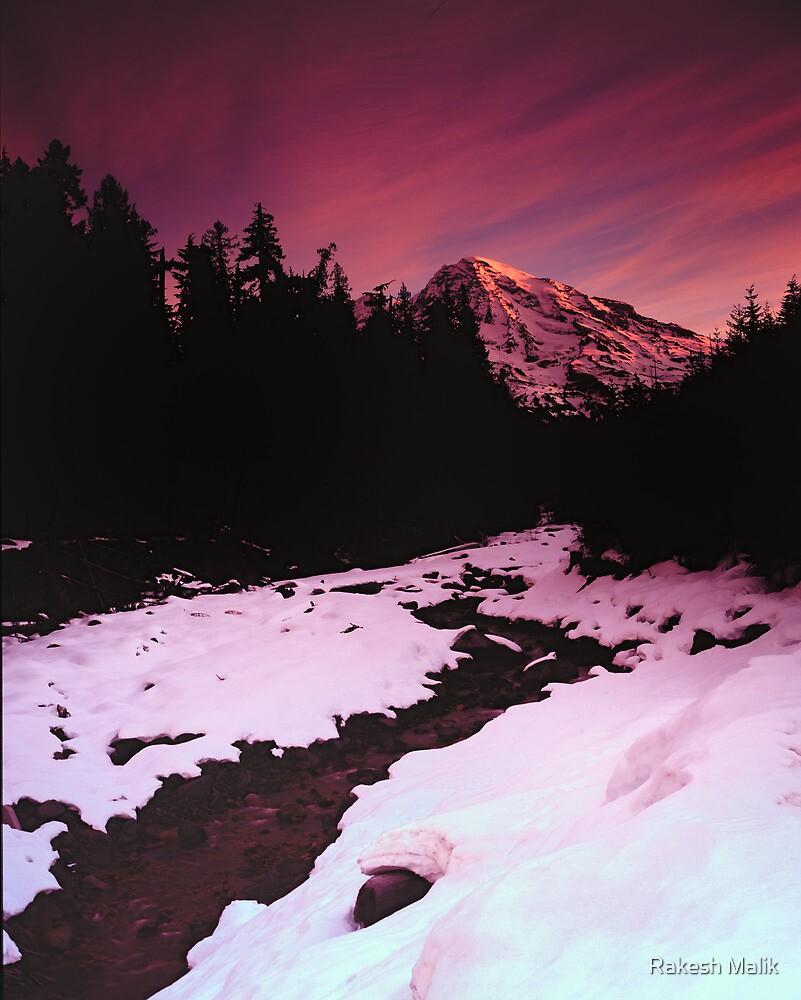Tahoma Sunrise by Rakesh Malik