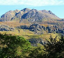 Slioch, Wester-Ross, Scotland by artwhiz47