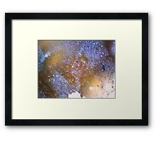 Starry Night (Marcasite in Agate) Framed Print