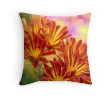 Floral Pop Throw Pillow