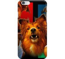 Dog Art Comp 0001 iPhone Case/Skin