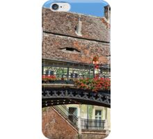 Liars Bridge in the sun light Sibiu Romania iPhone Case/Skin