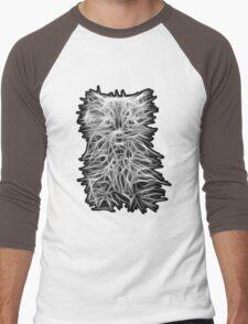 Kitten Men's Baseball ¾ T-Shirt