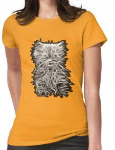 Kitten Womens Fitted T-Shirt