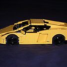 Lego Lamborghini 02 by Peter Barrett