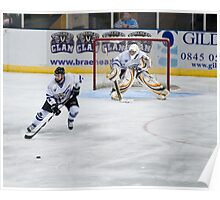 get the puck outa here Poster