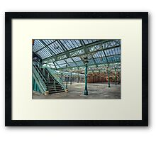 Tynemouth Metro Station Framed Print