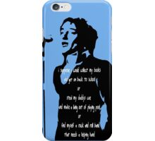 In Blue - 1971 iPhone Case/Skin