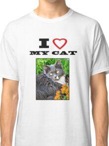 I LOVE MY CAT - Gracie Classic T-Shirt