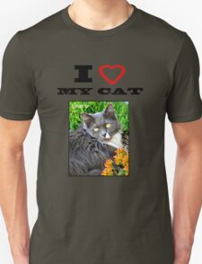I LOVE MY CAT - Gracie T-Shirt