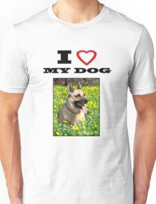 I Love MY DOG - Jersey Girl Unisex T-Shirt