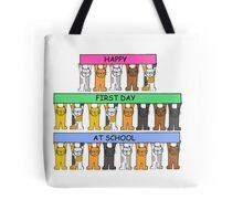 Happy First Day at School Tote Bag