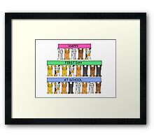 Happy First Day at School Framed Print