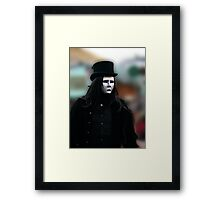 The Goth Weekend at Whitby, Oct 2010. 16 Framed Print
