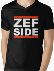 Zef Side Mens V-Neck T-Shirt