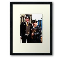 The Goth Weekend at Whitby, Oct 2010. 17 Framed Print