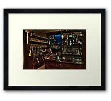 The bar..! Framed Print